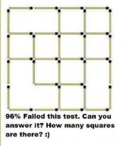 How many Squares in this Pic